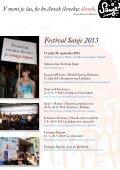 Program Sanje v Medani in Šmartno, pravljična vas ... - Založba Sanje - Page 2