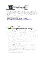 pdf format - Unylogix Technologies Inc.