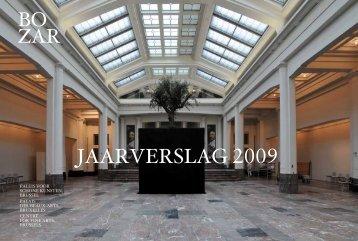 JAARVERSLAG 2009 - Bozar.be