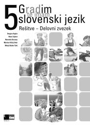 Gradim slovenski jezik 5 - rešitve delovnega zvezka