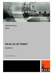 KR 60 L45 JET ROBOT - KUKA Robotics