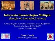 Casella G. - Terapia adiuvante nella PCI Primaria - Anmco