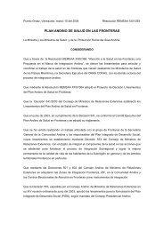 Resolución REMSAA XXV/393 - Organismo Andino de Salud