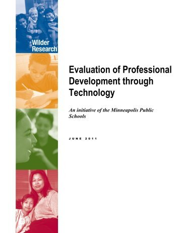 Evaluation of Professional Development through Technology