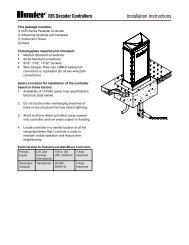 LIT-375 IDS Decoder Controller Installation Instructions