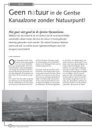 jg1_nr4_Geen natuur in de Gentse Kanaalzone ... - Natuurpunt Gent