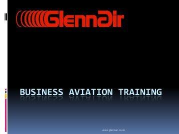 Business Aviation Training, Michael McCracken - eBace