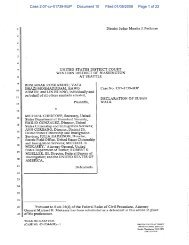 Case 2:07-cv-01739-MJP Document 10 Filed 01/08/2008 Page 1 of 22