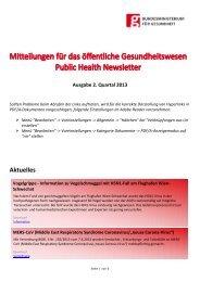 2. Quartal 2013 - Bundesministerium für Gesundheit