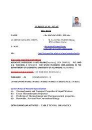 uploads/CV-R Dey.pdf - Student Welfare Division - BITS Pilani