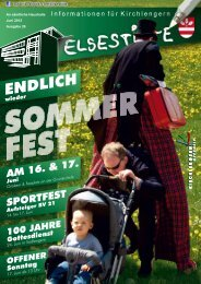 Grund zum Feiern! - Gemeinde Kirchlengern