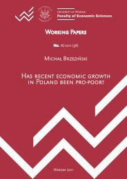 Has recent economic growth in Poland been pro-poor?