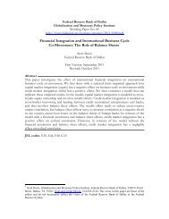 Financial Integration and International Business Cycle Co-Movement