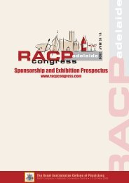 Sponsorship and Exhibition Prospectus - Tour Hosts Pty Limited