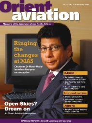 International - Orient Aviation