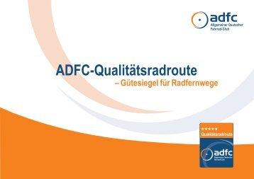 ADFC-Qualitätsradroute (Gütesiegel für Radfernwege) - Werratal