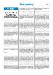 KG v 22. August 2011 - Forum Strafvollzug