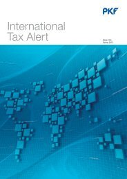 International Tax Alert - PKF South Africa