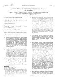 (WE) Nr 714/2009 z dnia 13 lipca 2009 r. w sprawie warunków ...