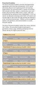 2012-2013 Preschool Academy Brochure - YMCA of Greater Charlotte - Page 5