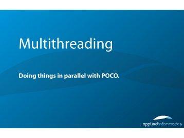 Multithreading - Poco