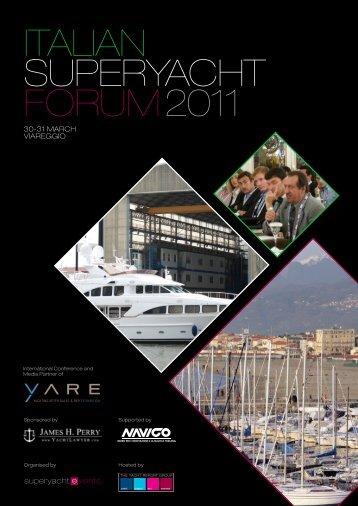 ITALIAN SuperyAchT Forum2011 - SuperyachtEvents