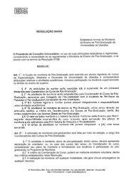 Resolução nº 004/2004 - Uniube