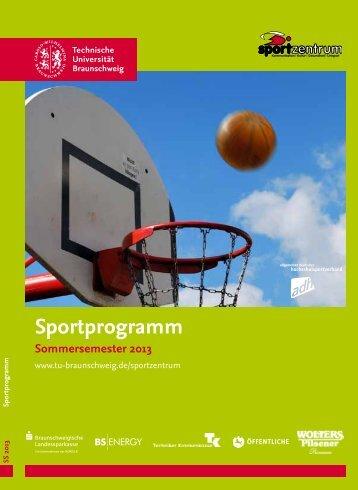 Kommentiertes Sportprogramm SS13 - Braunschweigischer