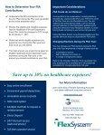 Advantages of a Flexible Spending Account - Lee University - Page 2