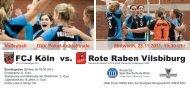 FCJ Köln vs. Rote Raben Vilsbiburg - Volleyballkreis Köln