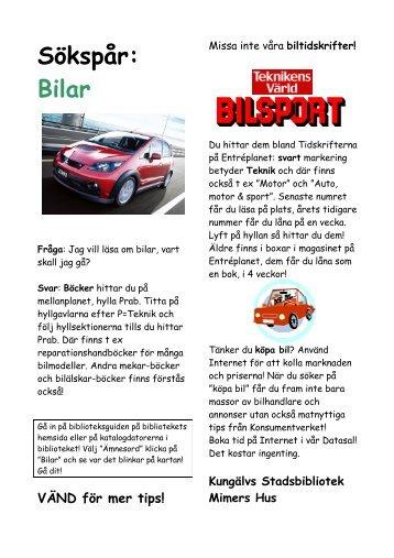 Sökspår: bilar - Kungälv