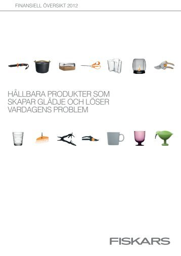 ladda ner - Fiskars Annual Report 2012