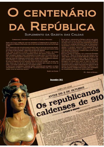 Suplemento - Gazeta Das Caldas