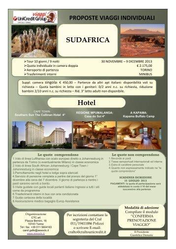 Hotel SUDAFRICA