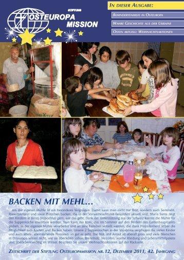 BACKEN MIT MEHl… - Osteuropamission Schweiz