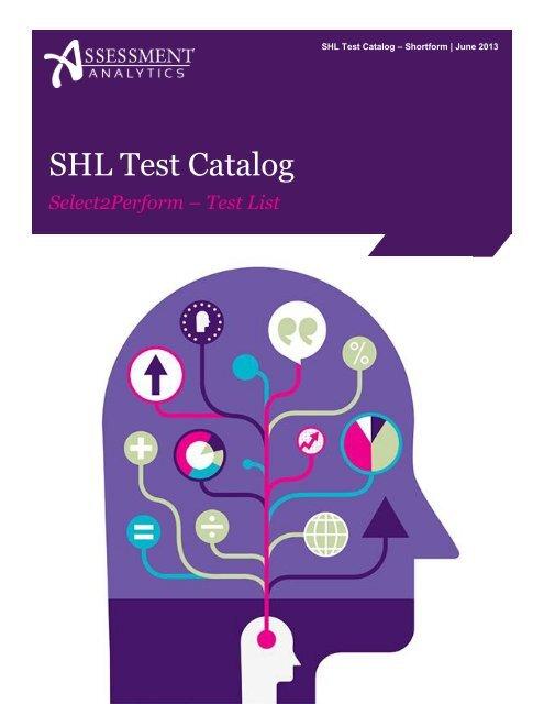 SHL Test Catalog - Assessment Analytics