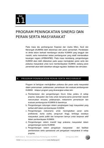 Professional Report - Kementerian Negara Koperasi dan UKM