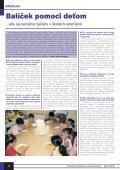 Jún 2004 - Ústredie práce, sociálnych vecí a rodiny - Page 4