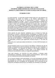 asamblea general de la omc informe sobre ... - Diario Médico