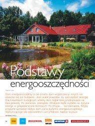 Podstawy energooszczędności - Budujemy Dom