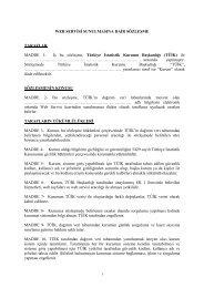 Web Servisi Sunulmasına Dair Sözleşme - Türkiye İstatistik Kurumu