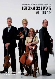 Download our Music Events Diary (PDF) - Laban