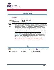 MARKETING ACTIVITY CALENDAR - US Dairy Export Council