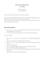 A.A. 2007/2008 - Università degli Studi di Firenze