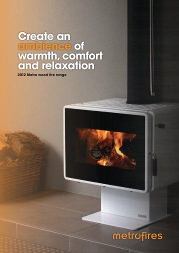 Metro Classic 2012 Brochure - Pivot Stove & Heating