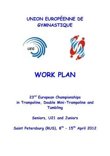 Work Plan Ech Rg Baku