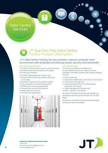 JT Rue Des Pres Data Centre