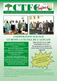 Lettre semestrielle d'information de la forêt communale du Cameroun