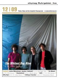 The Whitest Boy Alive - Kulturnews