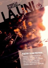 POETRY SLAM FESTIVAL. - La.Uni